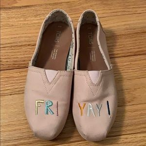 Classic Rose Canvas Friyay - Venice Collection